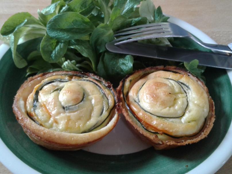 Spirales de légumes